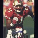 1998 Collector's Edge First Place Football #165 Terrell Owens - San Francisco 49ers