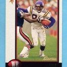 1998 Bowman Football #140 Cris Carter - Minnesota Vikings