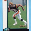 1998 Bowman Football #024 Brian Simmons RC - Cincinnati Bengals