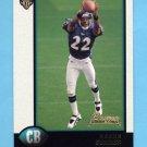 1998 Bowman Football #003 Duane Starks RC - Baltimore Ravens