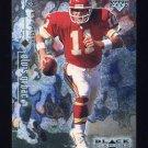 1998 Black Diamond Rookies Football #040 Elvis Grbac - Kansas City Chiefs
