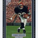 1997 Topps Gallery Football #024 Corey Dillon RC - Cincinnati Bengals