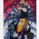 1997 Pinnacle Totally Certified Platinum Red Football #003 Brett Favre - Packers /4999