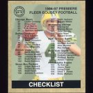 1997 Fleer Goudey Football #149 Brett Favre - Green Bay Packers