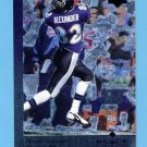 1997 Black Diamond Football #026 Derrick Alexander - Baltimore Ravens