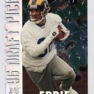 1996 Topps Laser Draft Picks #15 Eddie Kennison - St. Louis Rams