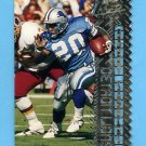 1996 Topps Laser Football #120 Barry Sanders - Detroit Lions