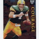 1996 Topps Gilt Edge Definitive Edge #02 Brett Favre - Green Bay Packers