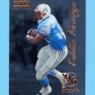 1996 Select Certified Football #100 Eddie George RC - Houston Oilers