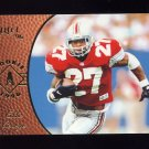 1996 Select Football #168 Eddie George RC - Houston Oilers
