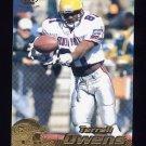 1996 Pacific Football #381 Terrell Owens RC - San Francisco 49ers