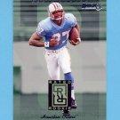 1996 Donruss Rated Rookies #06 Eddie George - Houston Oilers