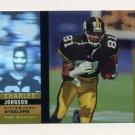 1995 SP Holoviews #12 Charles Johnson - Pittsburgh Steelers