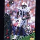 1995 Signature Rookies Autographs International #62 Frank Sanders RC - Arizona Cardinals AUTO /2750