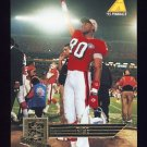 1995 Pinnacle Club Collection Football #191 Jerry Rice - San Francisco 49ers