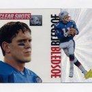 1995 Pinnacle Clear Shots #04 Drew Bledsoe - New England Patriots