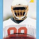 1995 Pinnacle Football #222 Warren Sapp RC - Tampa Bay Buccaneers