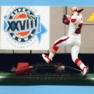 1995 Pinnacle Football #031 Deion Sanders - San Francisco 49ers