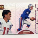 1995 Pacific Prisms Football #054 Drew Bledsoe - New England Patriots