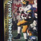 1995 Pacific Rookies #19 Tyrone Wheatley RC - New York Giants