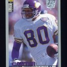 1995 Collector's Choice Player's Club #098 Cris Carter - Minnesota Vikings