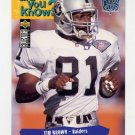 1995 Collector's Choice Player's Club #042 Tim Brown - Oakland Raiders