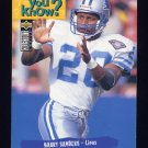 1995 Collector's Choice Football #031 Barry Sanders - Detroit Lions