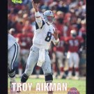 1995 Classic NFL Rookies Football #109 Troy Aikman - Dallas Cowboys