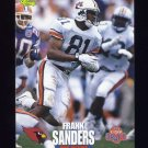 1995 Classic NFL Rookies Football #045 Frank Sanders - Arizona Cardinals