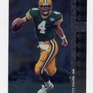1994 SP Football #163 Brett Favre - Green Bay Packers