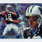 1995 Flair Football #024 Kerry Collins RC - Carolina Panthers