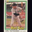1981 Donruss Baseball #214 Carl Yastrzemski - Boston Red Sox