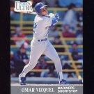 1991 Ultra Baseball #345 Omar Vizquel - Seattle Mariners