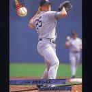 1993 Ultra Baseball #590 Jim Abbott - New York Yankees