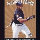 1995 SP Platinum Power #PP18 Frank Thomas - Chicago White Sox