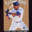 1995 SP Platinum Power #PP06 Mike Piazza - Los Angeles Dodgers