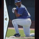 1995 SP Silver #158 Jon Nunnally - Kansas City Royals