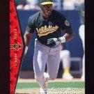 1995 SP Baseball #184 Ruben Sierra - Oakland A's