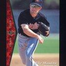 1995 SP Baseball #119 Mike Mussina - Baltimore Orioles