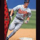 1995 SP Baseball #118 Brady Anderson - Baltimore Orioles