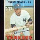 1967 Topps Baseball #358 Ruben Amaro - New York Yankees