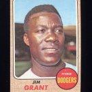 1968 Topps Baseball #398 Jim Grant - Los Angeles Dodgers