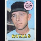 1969 Topps Baseball #211 Galen Cisco - Kansas City Royals
