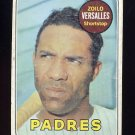 1969 Topps Baseball #038 Zoilo Versalles - San Diego Padres