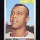 1970 Topps Baseball #203 Rudy May - California Angels