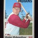 1970 Topps Baseball #161 Richie Scheinblum - Cleveland Indians