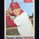 1970 Topps Baseball #159 Tommy Helms - Cincinnati Reds