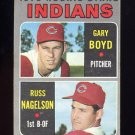1970 Topps Baseball #007 Rookie Stars Gary Boyd RC / Russ Nagelson RC - Cleveland Indians