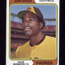 1974 Topps Baseball #456 Dave Winfield RC - San Diego Padres