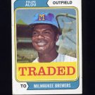 1974 Topps Traded #485T Felipe Alou - Milwaukee Brewers